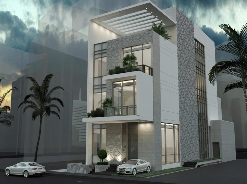 White pearl construction project in Kuwait